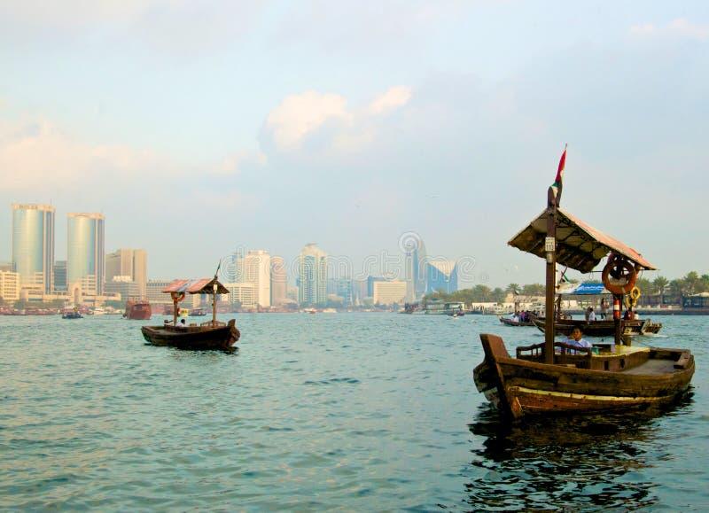 Портовый район Дубай стоковое изображение