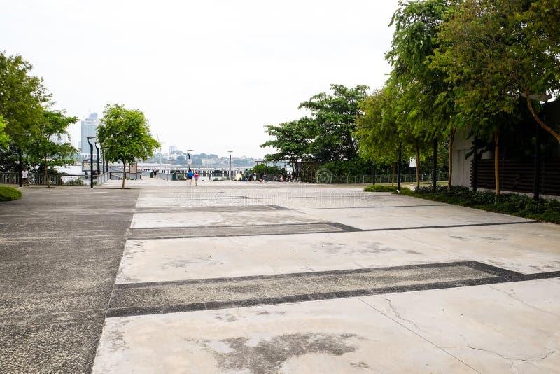 Портовый район Сингапур полесиь стоковое изображение