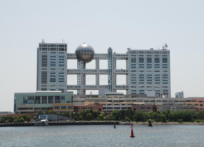 портовый район токио здания стоковое фото