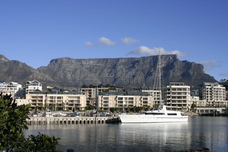 портовый район Cape Town стоковое изображение