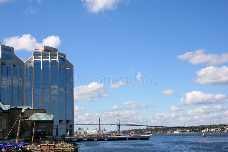 портовый район halifax стоковая фотография