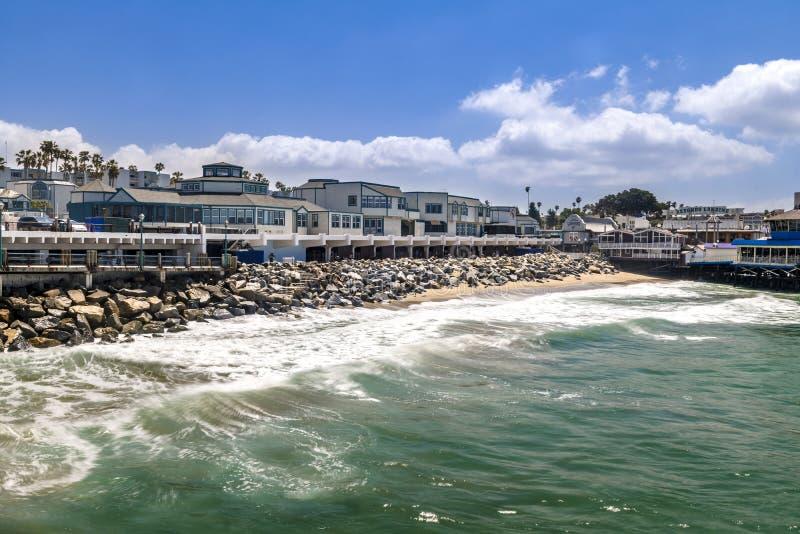 Портовый район Redondo Beach стоковое фото
