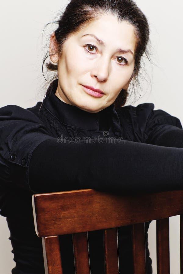 Портрет азиатской женщины стоковое фото rf