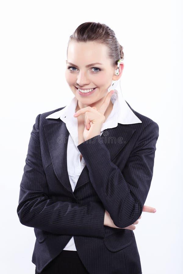 Портрет дамы дела стоковая фотография