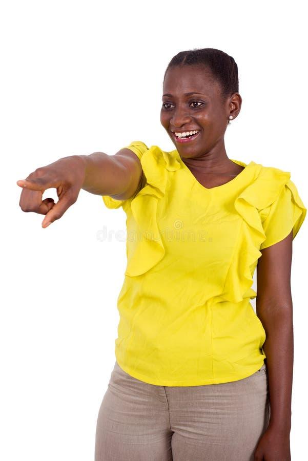 Портрет африканской девушки, счастливый стоковое изображение rf