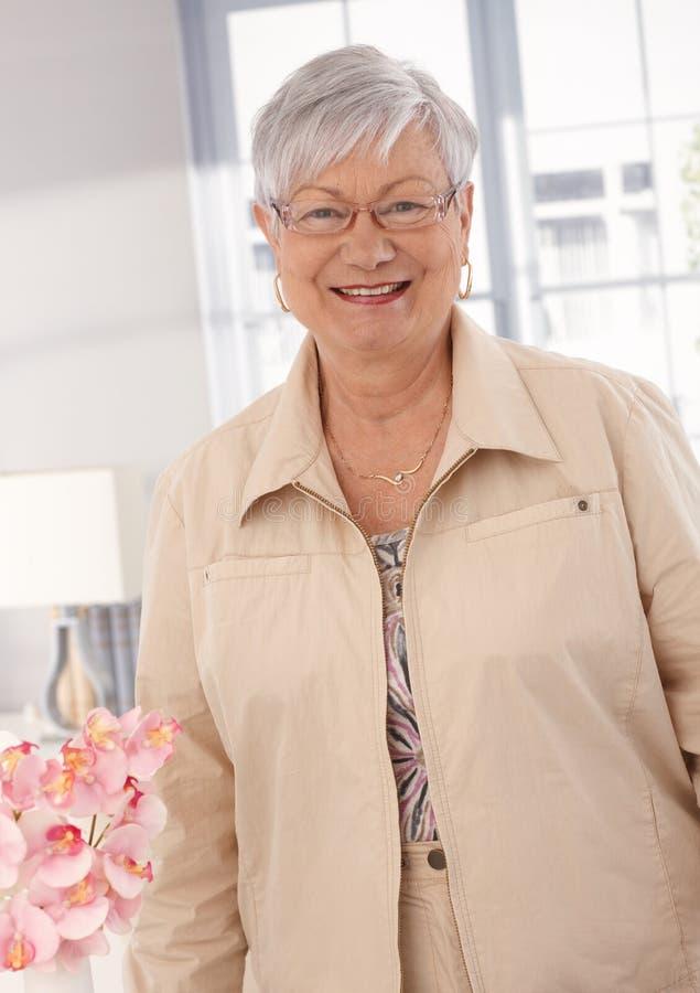Портрет бабушки стоковое фото rf