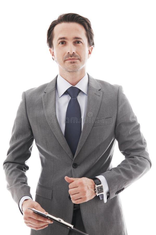 Портрет бизнесмена стоковая фотография