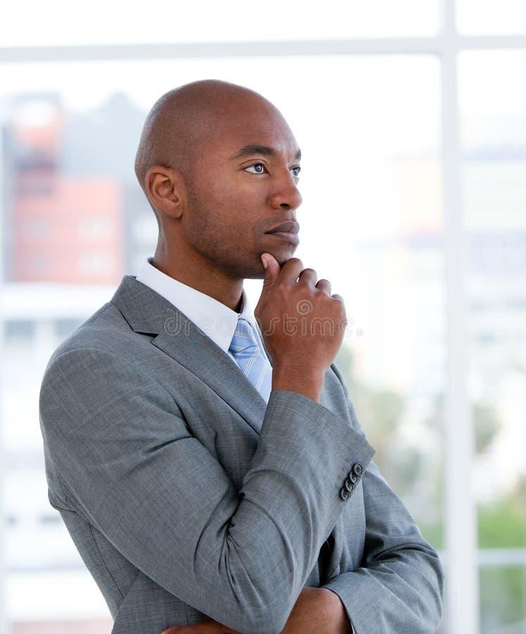 портрет бизнесмена харизматический этнический стоковые изображения