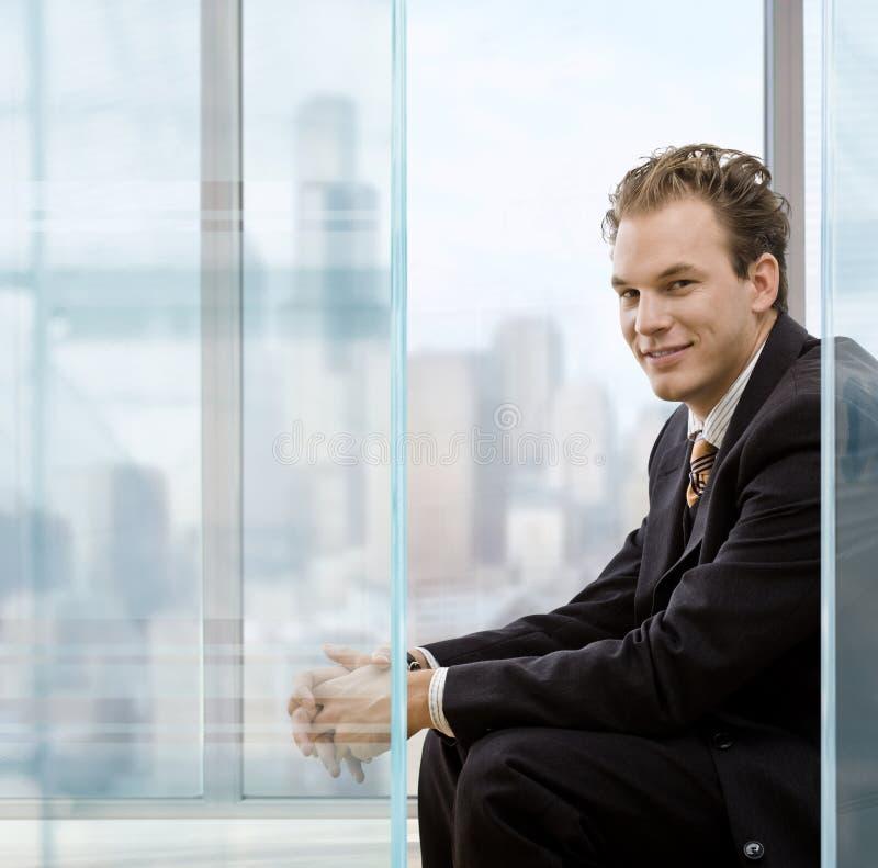портрет бизнесмена стоковое фото rf