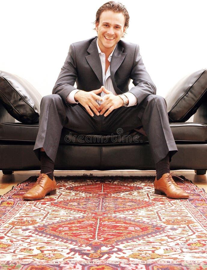 портрет бизнесмена стоковое изображение