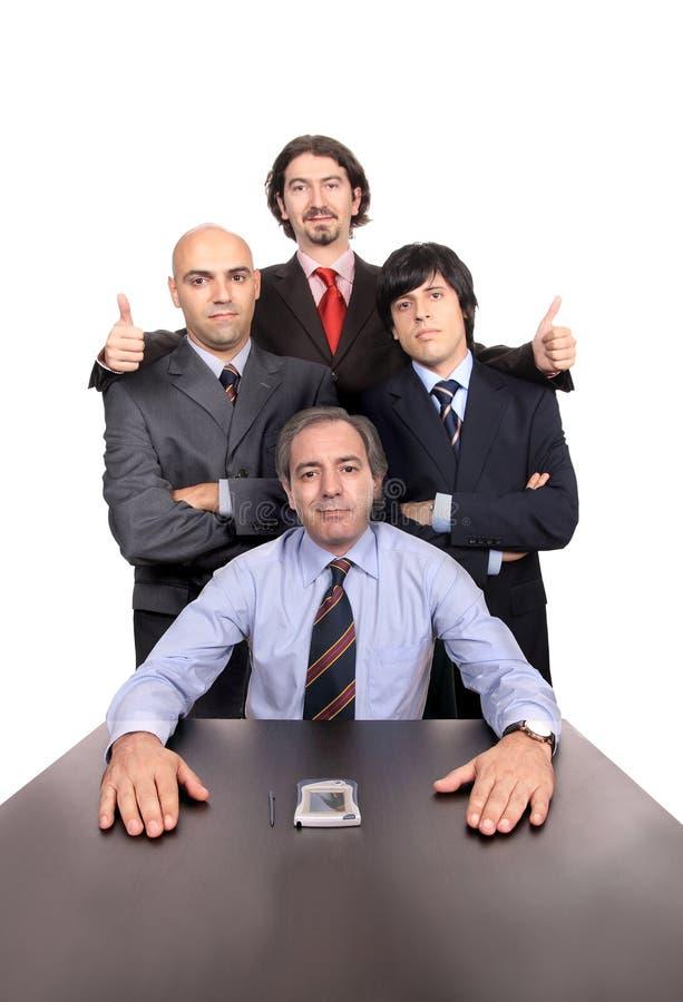 портрет бизнесменов стоковое изображение
