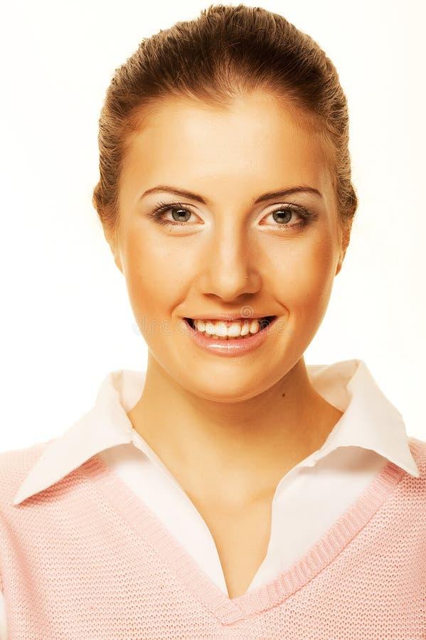 Портрет бизнес-леди стоковое фото