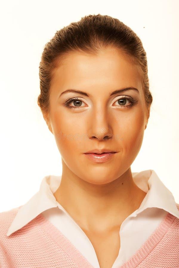 Портрет бизнес-леди стоковая фотография