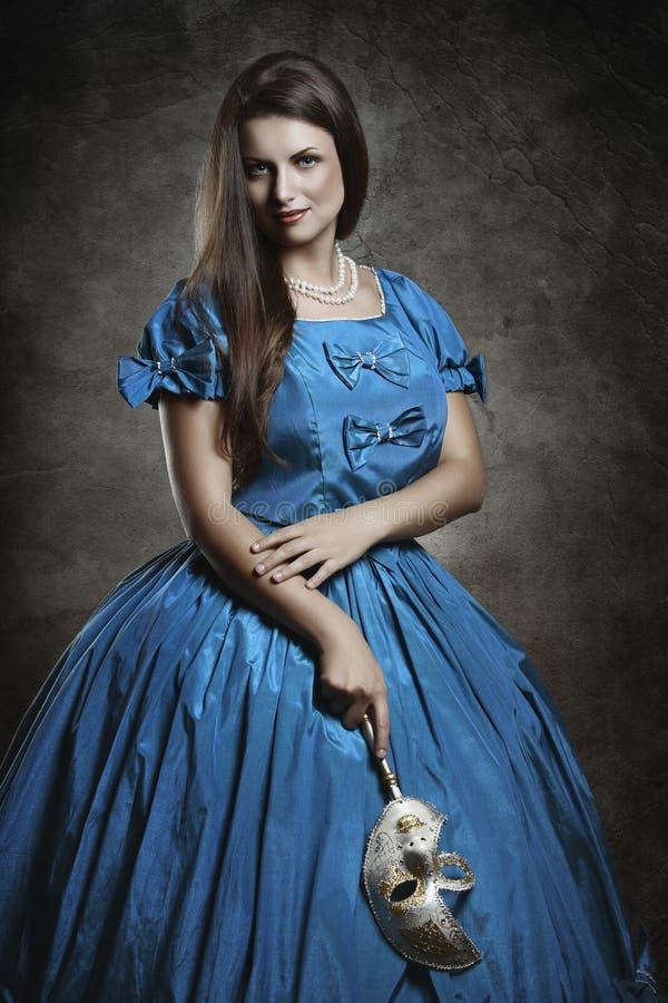 Портрет благородного вампира стоковое изображение