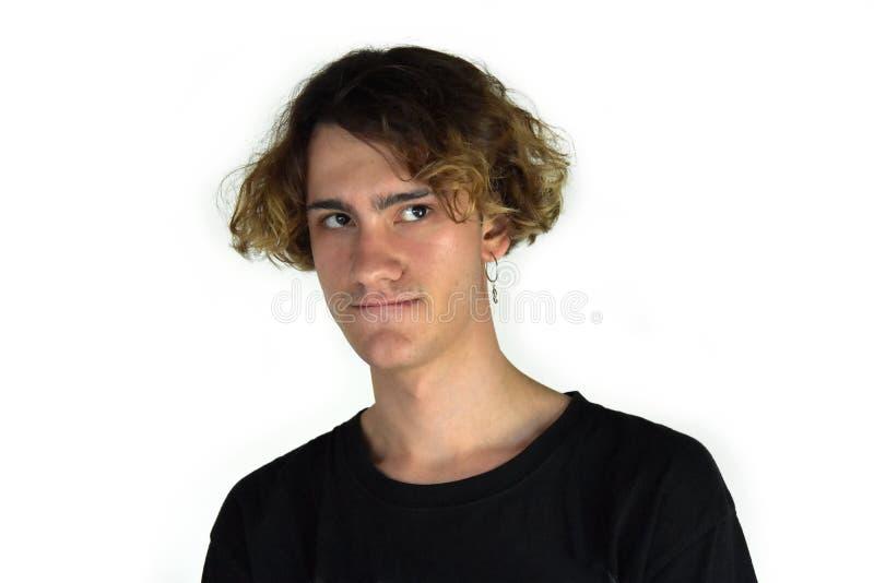 Портрет виновно выглядя молодого человека стоковые фото