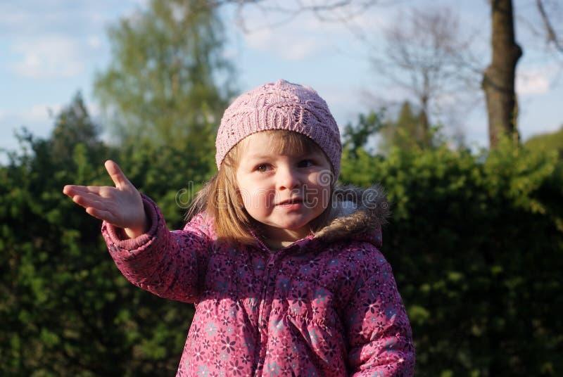 Портрет двухклассной девушки стоковое фото rf