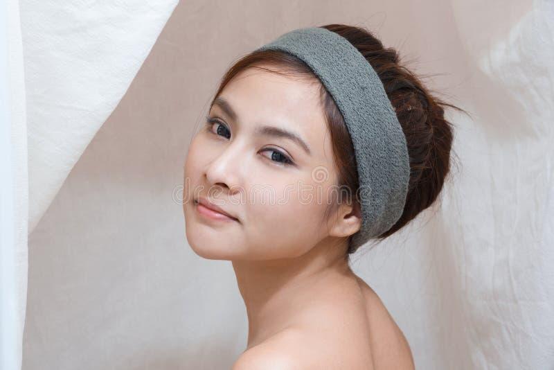 Портрет в тайской спе стоковая фотография