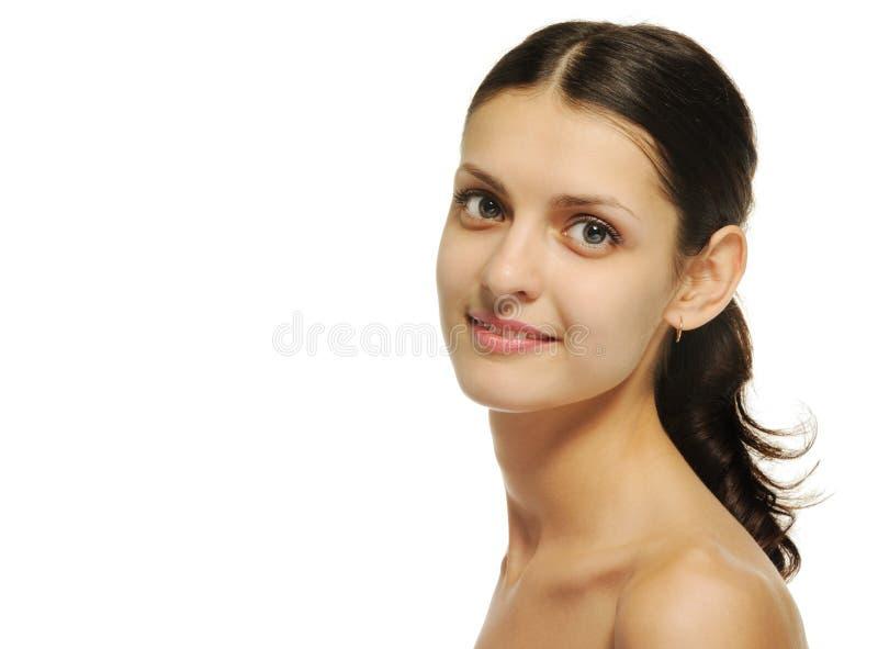 портрет девушки крупного плана сексуальный стоковые изображения