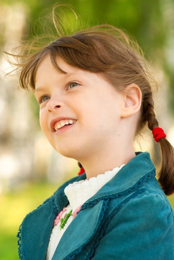 портрет девушки малый стоковое изображение