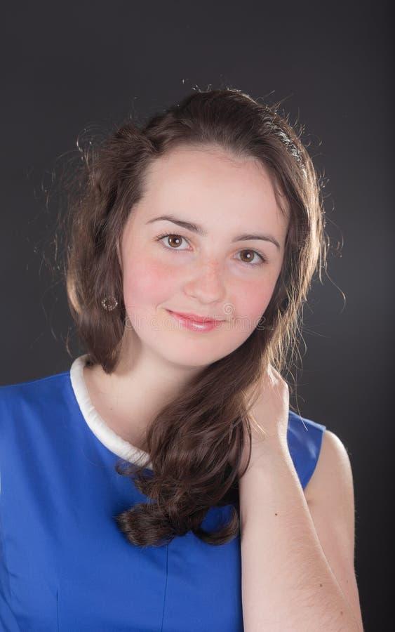 Портрет девушки подростка стоковое фото rf