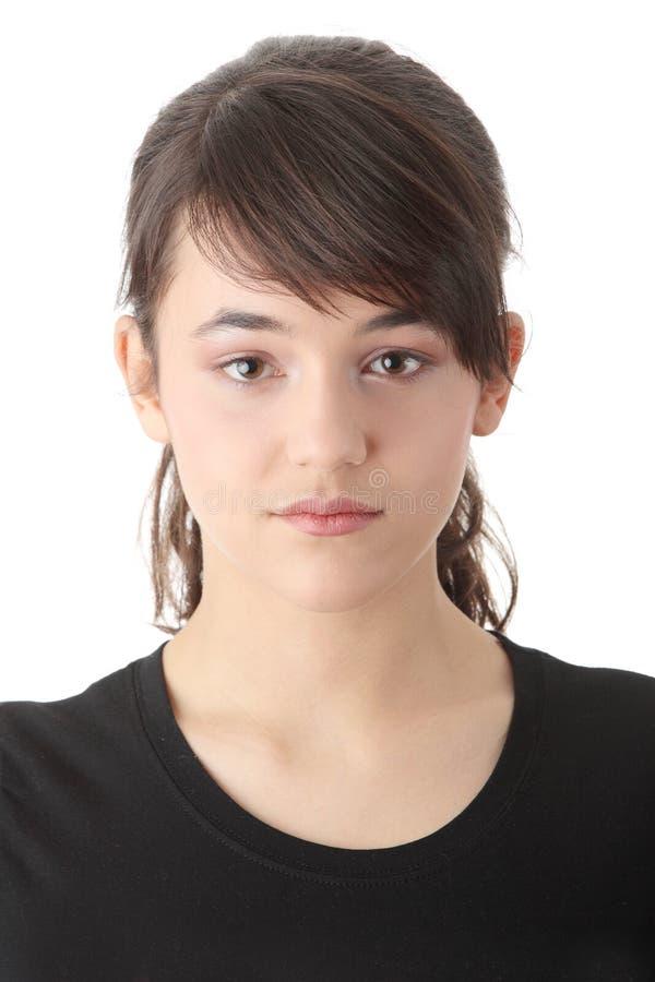 портрет девушки предназначенный для подростков стоковое фото rf