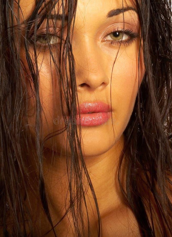 Download портрет девушки стоковое фото. изображение насчитывающей экзотическо - 1183178