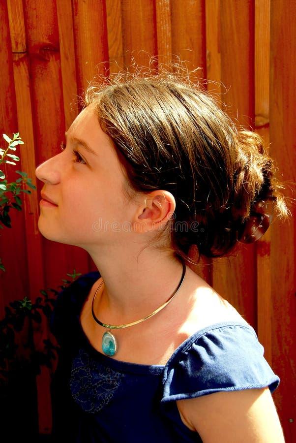 портрет девушки стоковое фото rf