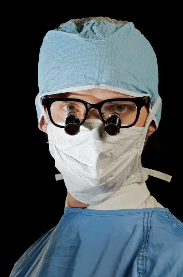портрет доктора стоковая фотография rf