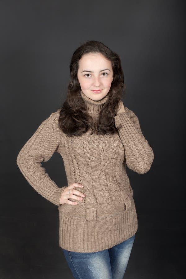 Портрет девочка-подростка стоковые изображения rf