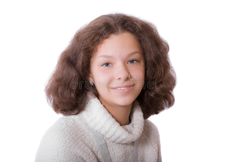 Портрет девочка-подростка стоковые фотографии rf