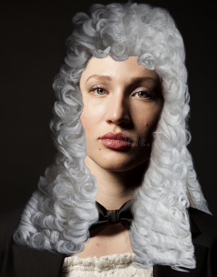 Портрет женского юриста стоковые изображения