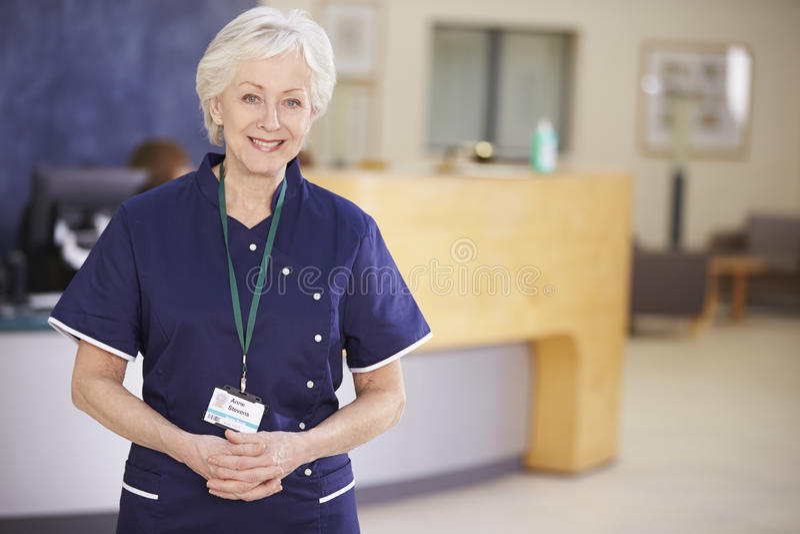 На приеме у медсестры