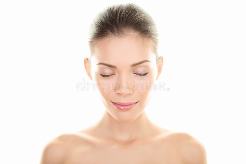 Портрет женщины красотки стоковое фото rf