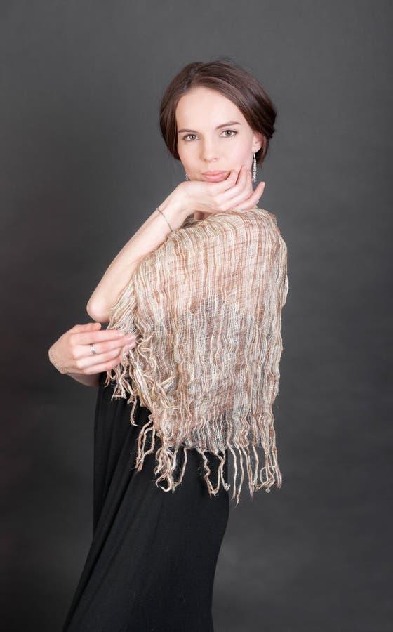 Портрет женщины стоковое изображение rf