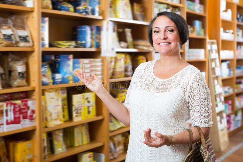 Senior Woman And Mature Woman Shopping