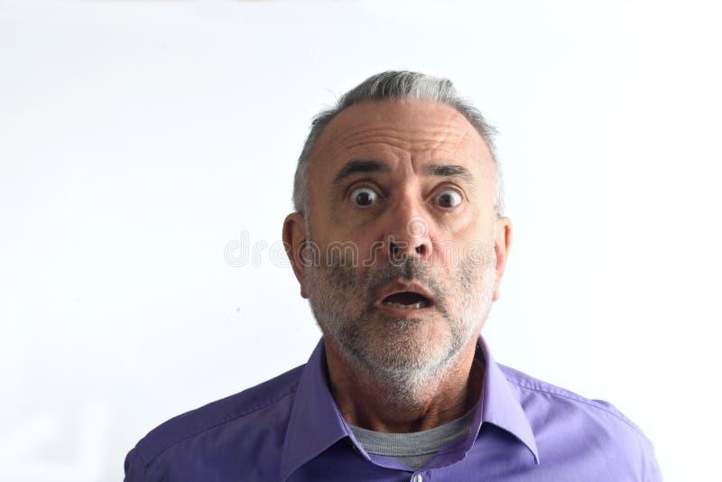 Портрет зрелого человека, стоковое фото