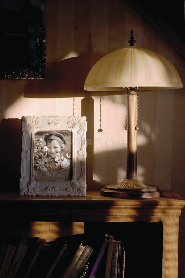 портрет интерьера семьи стоковое изображение rf