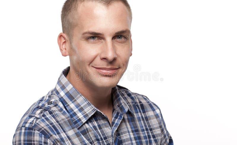 Средний смотря взрослый мужчина стоковая фотография rf