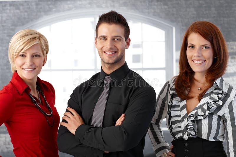 Портрет команды оффичиального бизнеса стоковые фотографии rf