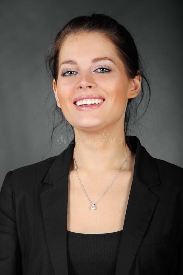 Портрет красивейшей девушки брюнет стоковая фотография rf