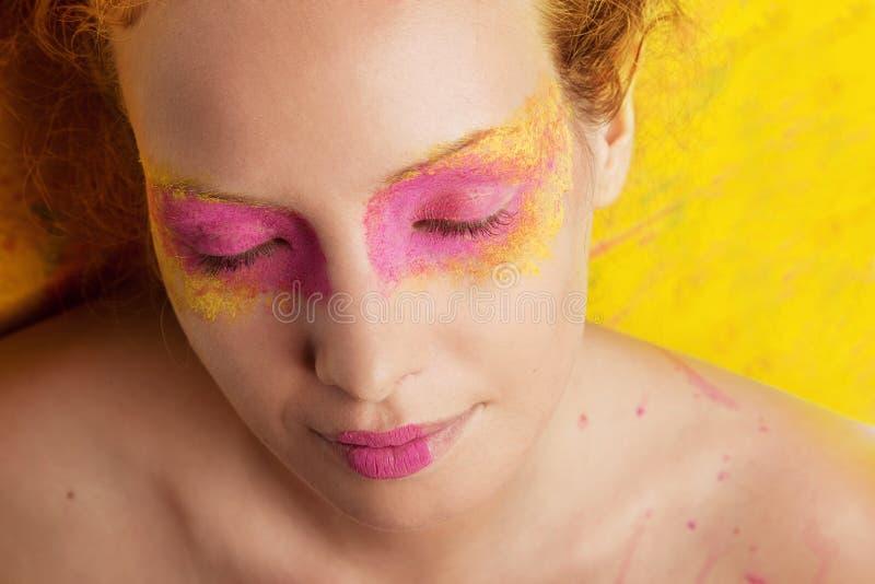 Портрет красивой женщины стоковые изображения rf