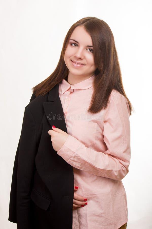 Портрет красивой молодой женщины стоковые изображения rf