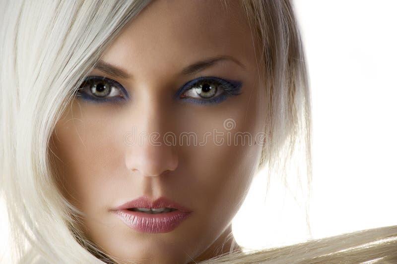 портрет красотки стоковое изображение