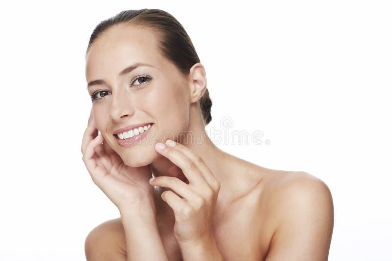 Портрет красоты женщины стоковое изображение rf