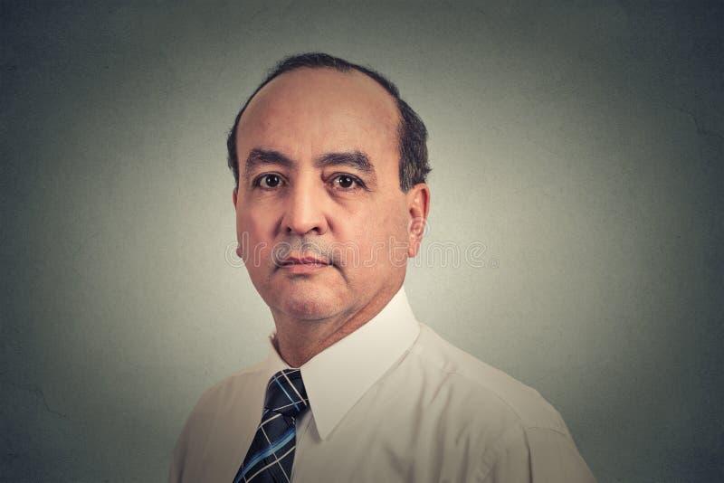 Портрет крупного плана бизнесмена стоковое фото rf