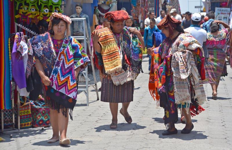 Портрет майяские женщины стоковые изображения