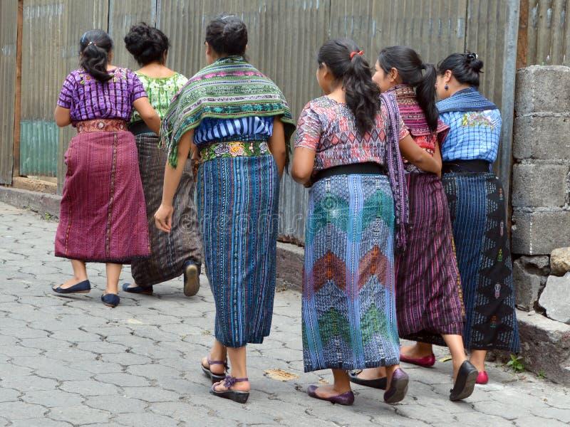 Портрет майяские женщины стоковая фотография