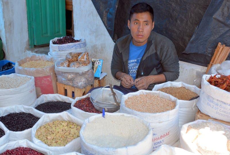 Портрет майяского молодого человека стоковые изображения rf