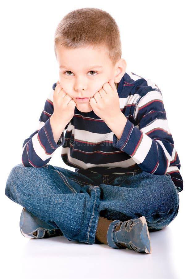 Портрет малого мальчика стоковые фото
