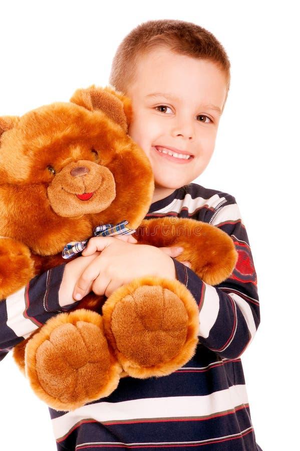 Портрет малого мальчика стоковое изображение rf
